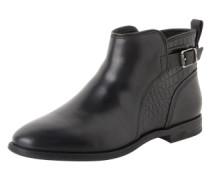 Boots 'Demi Croc' schwarz