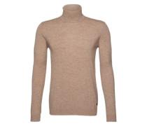 Pullover mit Rollkragen 'Thad' sand