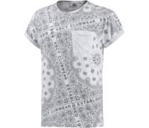 Printshirt grau