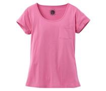 Kurzarmshirt lila / pink