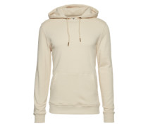Sweatshirt 'Basic Sweat Hoody' creme