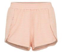 Shorts 'luna' rosa / weiß
