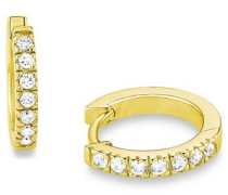 Paar Creolen '2012586' gold