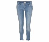 Stretch-Jeans 'Giselle' blue denim