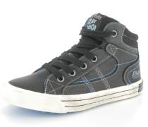 Sneaker Textil schwarz