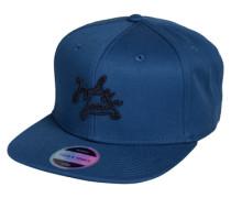 Kurzes Cap blau