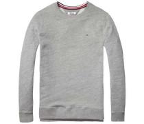 Hilfiger Denim Sweatshirt »Thdm Washed CN Hknit L/S 19« weiß