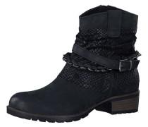 Leder-Boot schwarz