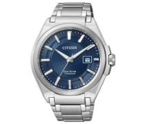 """Armbanduhr """"bm6930-57M"""" blau / silber"""
