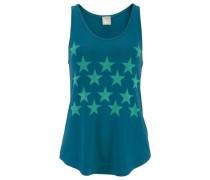 Strandtop blau / grün