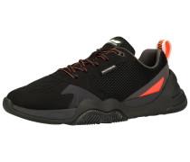 Sneaker schwarz / grenadine