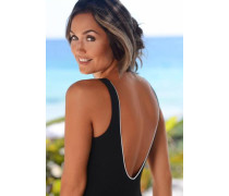 Badeanzug schwarz / weiß