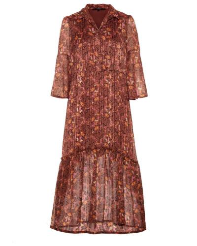 Kleid rostbraun