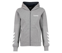 Kapuzenjacke 'Killian Zip Jacket' grau