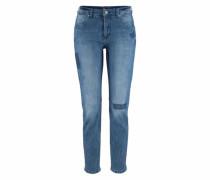 Stretch-Jeans 'Sexy Carrot' blue denim
