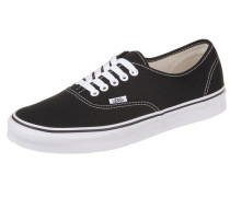 Sneaker Authentic schwarz