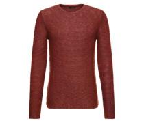 Pullover in Struktur-Strick 'Cifizz' rot