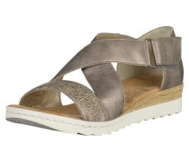 Sandalen bronze / platin
