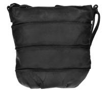 Waxed Leather Heyday Umhängetasche Leder 20 cm schwarz