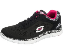 Flex Appeal Island Style Sneakers schwarz / weiß