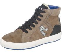 Sneakers High für Jungen braun / schwarz