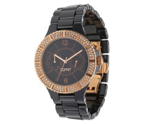 Armbanduhr Iris El101332F07 schwarz