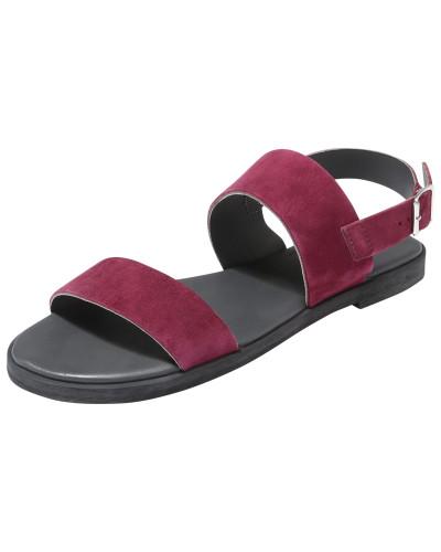 Sandale 'Cecelia' bordeaux