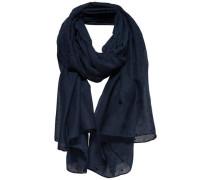 Print-Schal nachtblau
