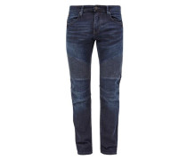 Close Slim: Jeans im Biker-Style blue denim