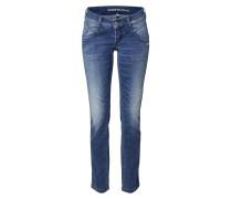 Jeans 'yasmin' blue denim / dunkelblau