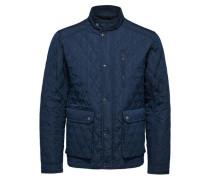 Gesteppte Jacke blau