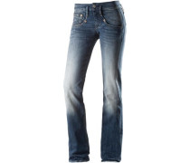 'Shyra' Straight Fit Jeans Damen blue denim