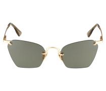 Sonnenbrille 'pit Stop' schwarz / gold