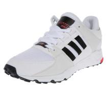 Niedrige Sneaker 'eqt Support RF' schwarz / weiß