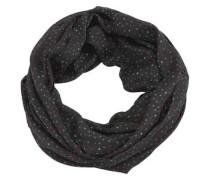 Loop-Schal mit Print schwarz