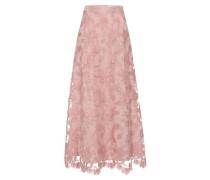 Rock Embroidered Evening Skirt altrosa