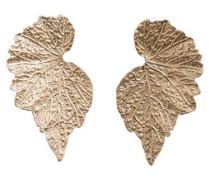 Blätter Ohrringe gold