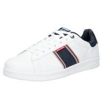 Sneaker 'banna' weiß / blue denim