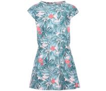Kleid mit kurzen Ärmeln 'nitgertrud' pastellblau / altrosa / melone
