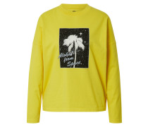 Shirt 'boxyteels' gelb