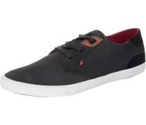 Canvas-Sneaker schwarz