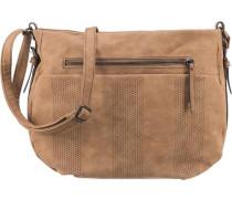 Handtasche braun / hellbraun