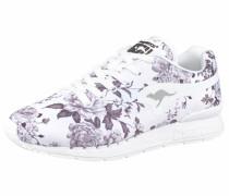 Sneaker »Coil-R Flower« grau / weiß