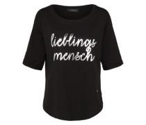 T-shirt 'Lieblingsmensch' schwarz