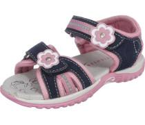 Sandalen für Mädchen dunkelblau / rosa