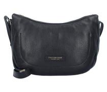 Plume Soft Donna Umhängetasche Leder 29 cm schwarz