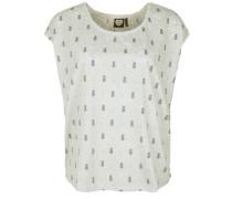 Shirt 'pina' grau / weißmeliert