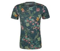 Slim: T-Shirt mit Allover-Print