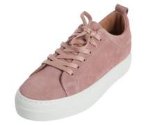 Wildleder-Sneaker altrosa