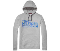 "Hilfiger Denim Sweatshirt ""thdm Basic Branded HD Hknit L/S 12"" hellgrau"